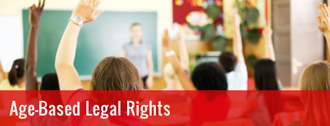 Age-based Legal Rights
